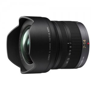 HF007014 Ultra Wide-Angle zoom lens LUMIX 7-14mm F4.0