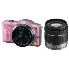 Panasonic DMC-GF3W Twin Lenses Pink