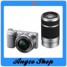 Sony Alpha NEX 5RY with 16-50mm + 55-210mm Lens Digital Camera - Silver