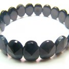 BOBXRS0600X Onyx Oval Shape 10x14mm Cut Bracelet