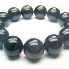 BOBXSP1000X Obsidian  Round Shape  16mm Bracelet