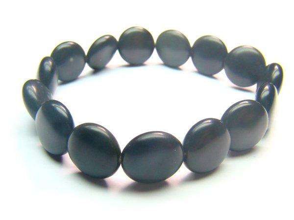 BOBXHS1000X Obsidian  Spere Shape  12mm Bracelet