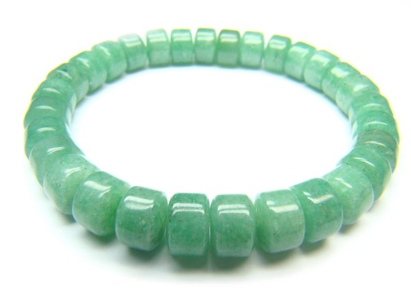 BAVXWH0610X Aventurine Wheel Shape 5x8mm Bracelet