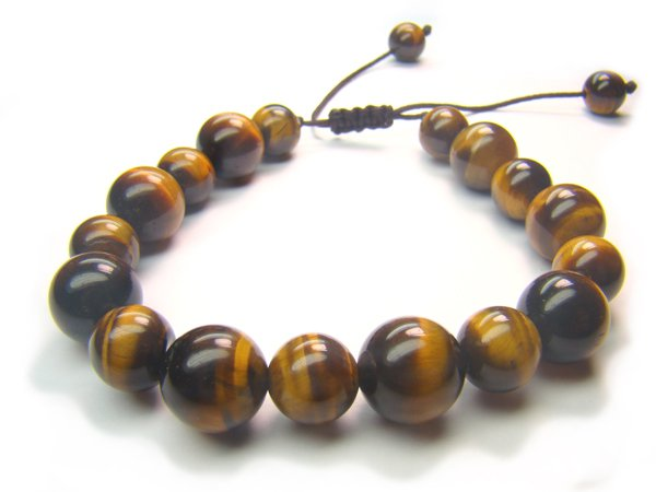 BB0076C Tiger Eye Mix Shape  Bracelet