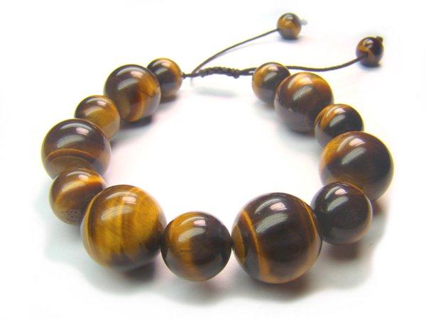 BA2102 Tiger Eye Mix Shape  Bracelet