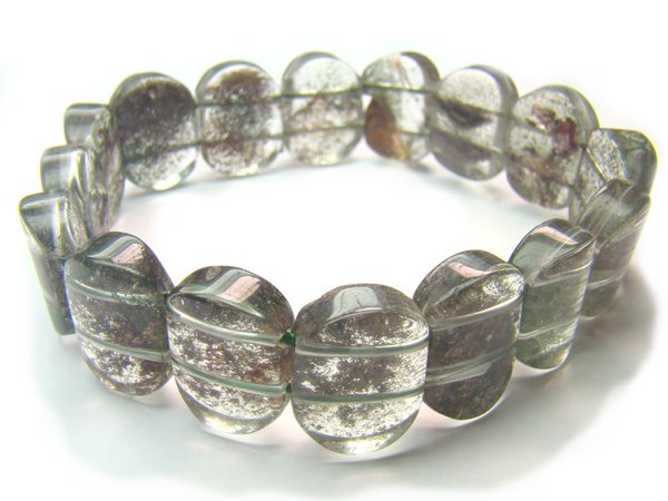 BA4784 Phantom Quartz Oval Shape 16x12mm Bracelet