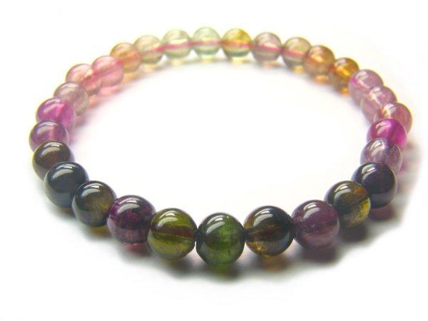 BA6830 Tourmaline Round Shape  Bracelet