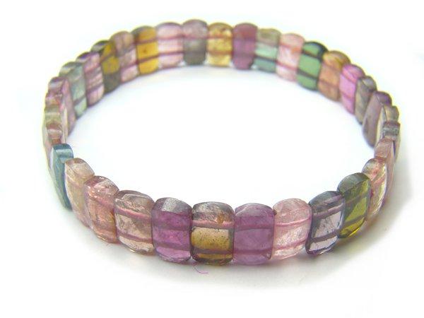 BA9226 Tourmaline Rectangular Shape  Bracelet