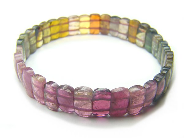 BA9230 Tourmaline Rectangular Shape  Bracelet