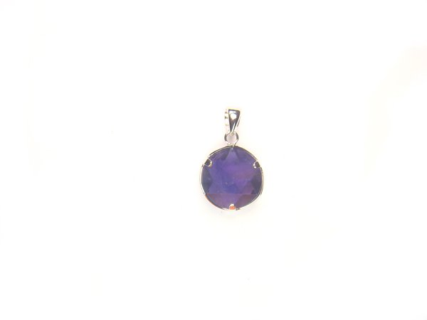 PA1441 Amethyst Star of David 12mm Pendant