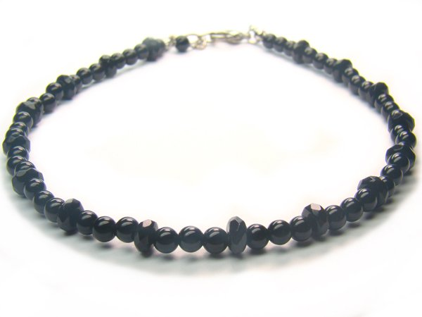 AA216F Onyx    Anklet