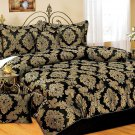 Wyndham House 7pc Jacquard King Size Comforter Set