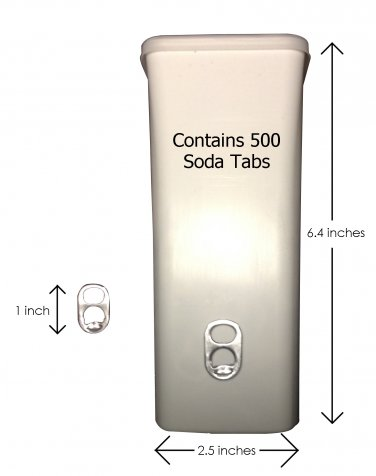 1 Container of Soda Tabs (standard)