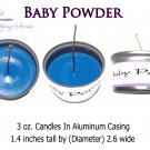 Baby Powder 3 oz. Candle