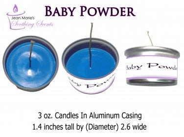 Baby Powder 3 oz. Candle