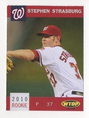 2010 Washington Nationals #22 Stephen Strasburg ROOKIE CARD Rc NM/MT #1 Overall Pick SCARCE SGA