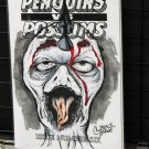Penguins vs. Possums #6: Zombie Penguin Sketch Cover