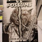 Penguins vs. Possums #6: Penguins & Possum Mash-up Sketch Cover