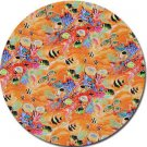 Sea Life Fabric - Orange