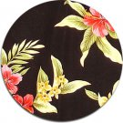 Luau Fabric  - Black