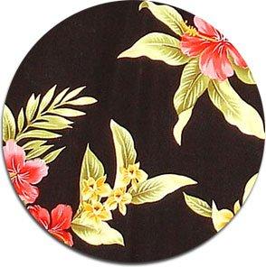 Luau Fabric  - Black