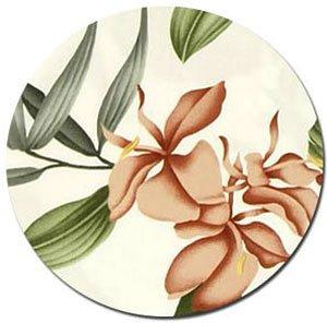 Pua Rayon Fabric - White