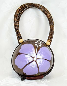 Coconut Handbag PUrple