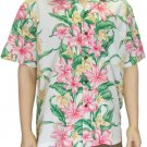 Hawaiian Shirts for Men- Hibiscus Panel  4XL