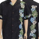 Black Print Shirt - Laele  2XL - 4XL