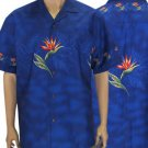 Hawaiian Shirt - Blue  2XL - 4XL