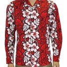 Long Sleeve Shirt - Hawaiian RED