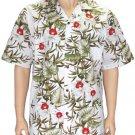 Hanohano - Men Aloha shirt - WHite