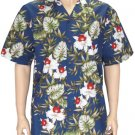 Hanohano - Cotton ALopha Shirt - Navy