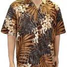 Inside The Forest - Cotton Shirt - Brown  2XL  4XL