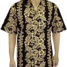 Flower Leis - Cool Shirt  Black  2XL - 4XL