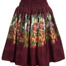 Hula Girl - Tropical Skirt - Red