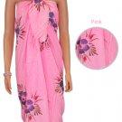 Hibiscus Sarong - Pink