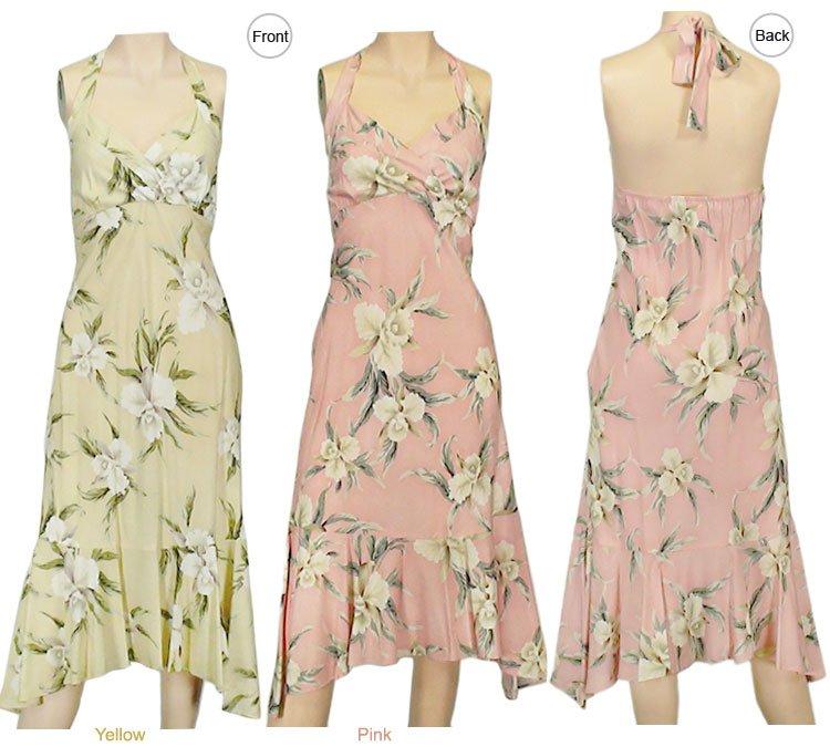 Malana-Halter Dresses