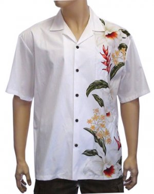 Men's Border Shirt- Kainalu 2XL