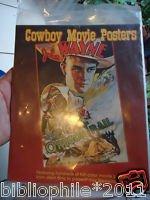 Cowboy Movie Posters - In Slip Case - Unread Fine 1998