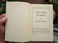 The Moon Is Down by John Steinbeck 1942 first edition 2nd estate