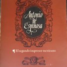 Antonio De Espinoza by A M Stols 1962 Very Good Plus