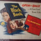 The Black Book AKA The Reign Of Terror 1949 Original Movie Poster