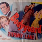 Bodyguard 1948 Noir Robert Altman 1/2 sheet 22x28 original