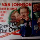 The Scene Of The Crime-Van Johnson-1949-Original 1/2 Sheet-Movie Poster