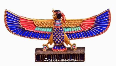 EGYPTIAN ISIS OPEN WINGS FIGURINE (6201s)