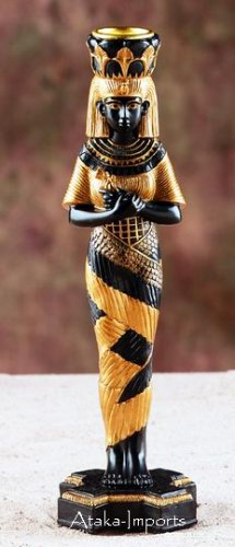 EGYPTIAN DJEHUTI CANDLEHOLDER (5956)