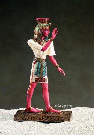 EGYPTIANRAMESSES III STATUE CANDLEHOLDER (5074)
