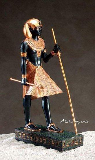 EGYPTIAN GUARDIAN STATUE-GORGEOUS (5082)