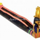 EGYPTIAN SNAKE COFFIN INCENSE BURNER (6327)